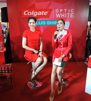 Colgate Optic White Roadshow @ Watsons