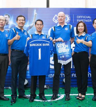 BBL-Chelsea FC Press Conference.