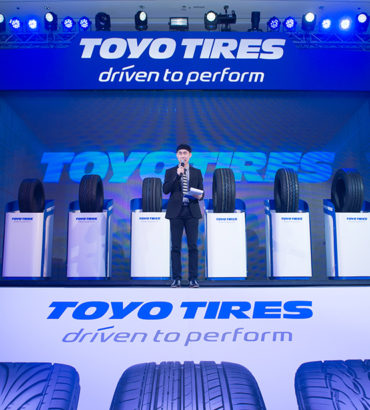 TOYO TIRES PRESS CONFERENCE.