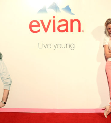 EVIAN Wanna be Young Party.