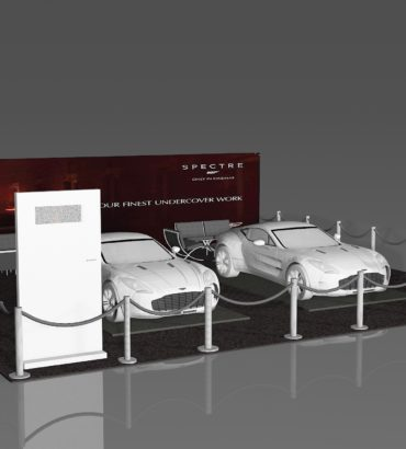 Aston Martin Booth Design