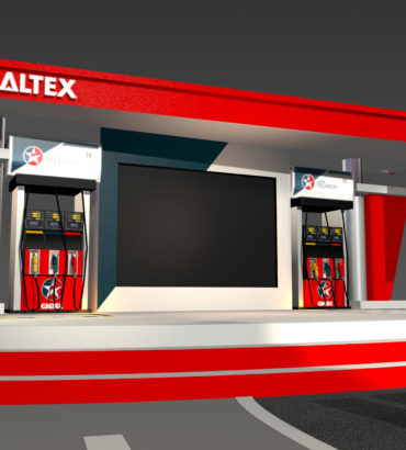 Caltex – The 1 Card Press conference Design