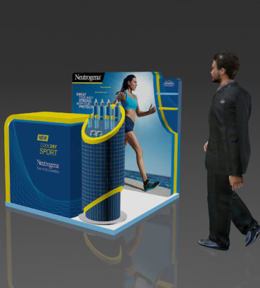 Nuetrogena Cool Dry Sport Booth