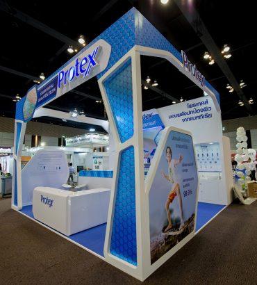 Booth Protex ภายในงานสัมมนา แพทย์ผิวหนังแห่งประเทศไทย 2017